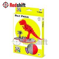 3D Felt Puzzle: T -Rex #79001