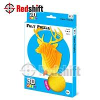 3D Felt Puzzle: Deer Trophy #79013