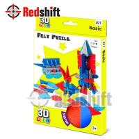3D Felt Puzzle: Basic Puzzle Boy #79021