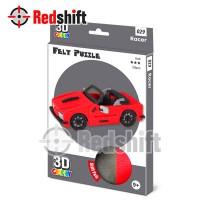 3D Felt Puzzle: Racer #79029