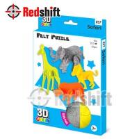 3D Felt Puzzle: Mini Animal  Set - Safari #79037