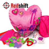 Design your own Groovy cushion Kit - Heart #79263