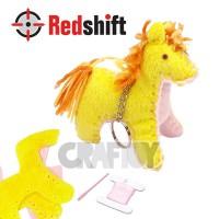 Sewing Animal Keyring horse #79357