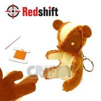 Sewing Animal Keyring - Bear #79367