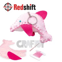 Sewing Animal Keyring - Dolphin #79372