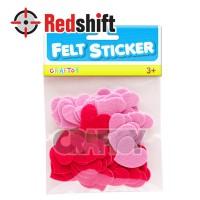 Felt Sticker - Heart  #79499