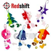 Make your Felt Christmas Ornament  #79637