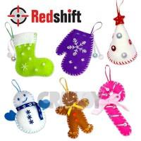 Make your Felt Christmas Ornament  #79638