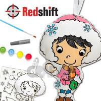 Color your Culture Doll - Eskimo #79715