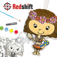 Color your Culture Doll - Hawaiian #79716