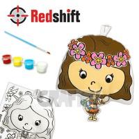 Color your Culture Doll Charm - Hawaiian #79723