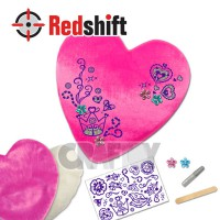 Design Your Bling Bling Cushion - Heart #79786