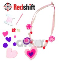 Make your Felt Necklace - Heart  #79825