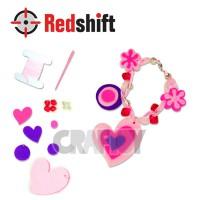 Make your Felt Bracelet - Heart #79829
