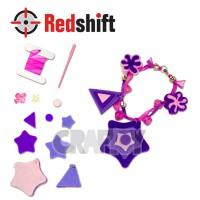 Make your Felt Bracelet  - Star  #79831
