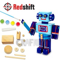 Color your Wooden Mini Robot v2 #79898