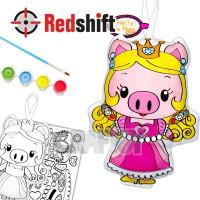 Color your Animal Pal - Princess Pig #79943