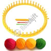 OEM plastic knitting tools yarns set #59001