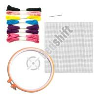 OEM cross stitch kit with plastic tool #59003