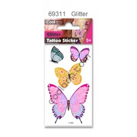 Mini Glitter Temporary Tattoo #69311