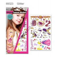 Glitter Temporary Tattoo #69323