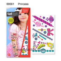 Kid Temporary Tattoo -  Princess  #69561