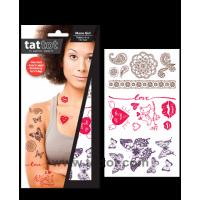 Adult Temporary Tattoo -  Mono girl #69584