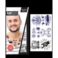 Adult Temporary Tattoo -  Mono Man #69585