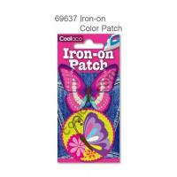 Mini Iron-on PU color Patch #69637