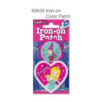 Mini Iron-on PU color Patch #69638