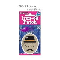 Mini Iron-on PU color Patch #69642