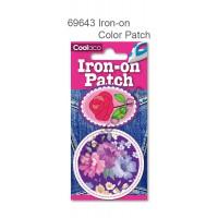 Mini Iron-on PU color Patch #69643