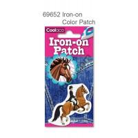 Mini Iron-on PU color Patch #69652