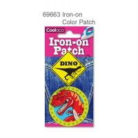 Mini Iron-on PU color Patch #69663