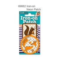 Mini Iron-on Canvas Neon Patch #69682