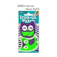 Mini Iron-on Canvas Neon Patch #69683