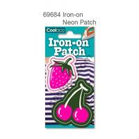 Mini Iron-on Canvas Neon Patch #69684