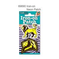 Mini Iron-on Canvas Neon Patch #69690