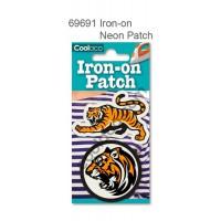 Mini Iron-on Canvas Neon Patch #69691