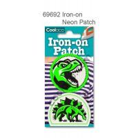 Mini Iron-on Canvas Neon Patch #69692