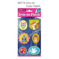Iron-on PU color Patch #69714