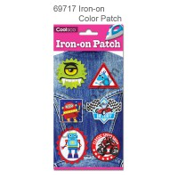 Iron-on PU color Patch #69717