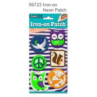 Iron-on Canvas Neon Patch #69723