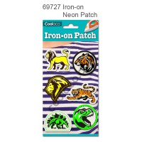 Iron-on Canvas Neon Patch #69727